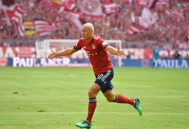 El holandés Arjen Robben |Facebook Bayern Munich.