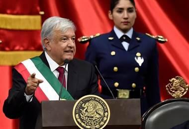 Manuel López Obrador, presidente de México
