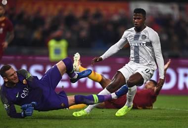 Roma vs Inter de Milan.