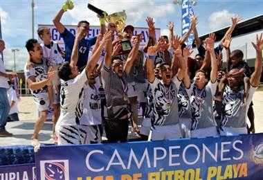 Leones Indomables se coronaron campeones del fútbol playa |DT Comunicación.