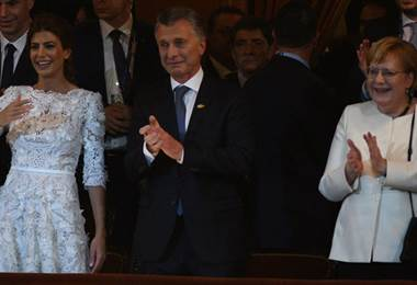 Mauricio Macri. G20. Argentina. BBC.