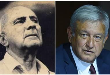 Peciller y Manuel López Obrador
