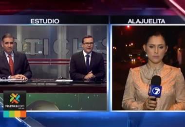 Incendio consumió ocho estructuras en Alajuelita