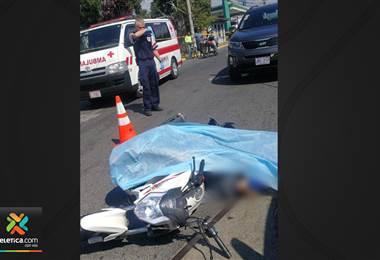 Ultiman de 3 disparos a sujeto de 25 años que viajaba en motocicleta en San Francisco de Dos Ríos