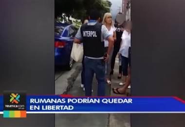 Rumanas detenidas en nuestro país podrían quedar libres en cualquier momento