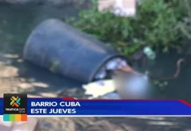 Hallaron el cuerpo de una mujer en un río que pasa por Barrio Cuba