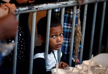 Niño migrante. BBC Mundo.