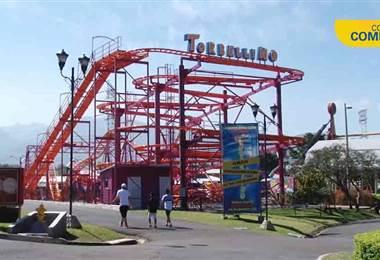Torbellino es la nueva atracción del Parque Diversiones