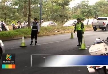 Policía de Tránsito pide a conductores pegar el marchamo 2019 antes del primero de enero