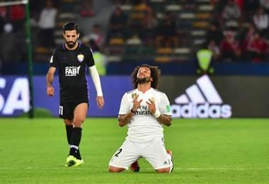 Marcelo del Real Madrid. AFP