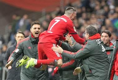 Franck Ribery. AFP