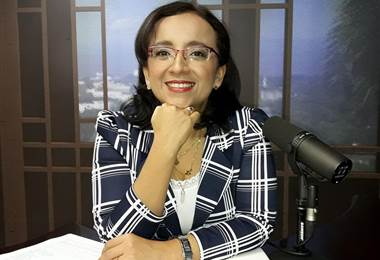 Lucía Pineda, periodista nicaragüense.