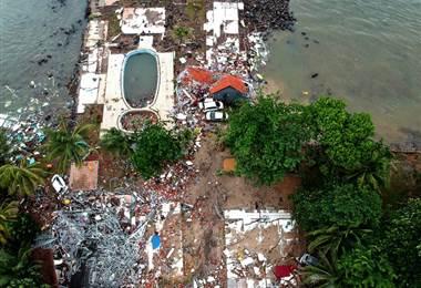 Tsunami Indonesia. AFP.