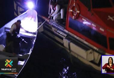 Náufragos ticos fueron rescatados por un crucero cerca de Jamaica