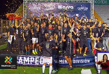 Herediano volvió a celebrar un campeonato en el Saprissa después de un año y siete meses