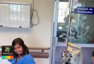 Bombeta reventó muy cerca de una niña de siete años y le provocó una herida en la frente