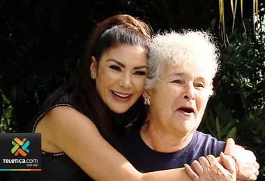 Conozca a la consentida de Monserrat Del Castillo, su abuela