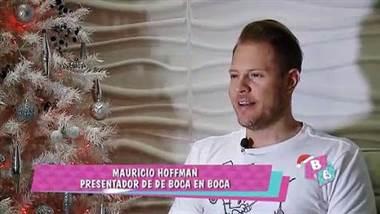 Mauricio Hoffman pasará su primera Navidad como papá