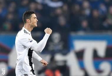 El delantero portugués, Cristiano Ronaldo.