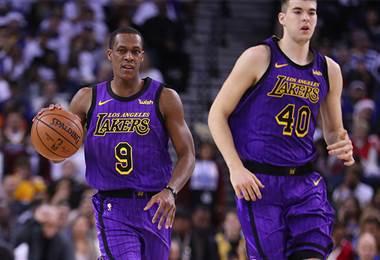 El armador de los Lakers, Rajon Rondo |NBA.com