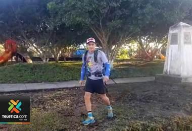 Deportista costarricense caminó 690 kilómetros de montaña por una buena causa