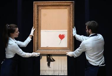 Banksy. BBC Mundo.