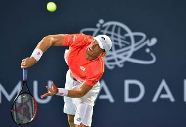El tenista sudafricano, Kevin Anderson |AFP.