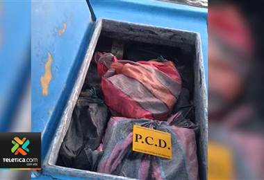 Guardacostas interceptaron embarcación con 500 kilogramos de cocaína