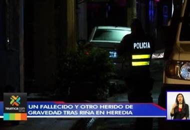 Un joven murió y el otro resultó grave tras una pelea en Heredia