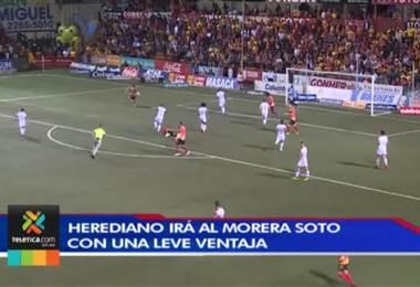 Herediano irá al Morera Soto con una leve ventaja