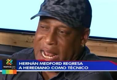 Herediano oficializa a Hernán Medford como técnico para la próxima temporada