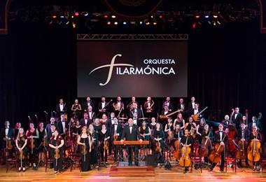 Orquesta Filarmónica.
