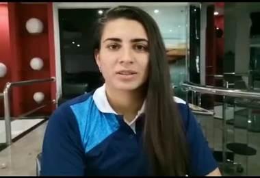 Daniela Solera tica campeona de la Copa Libertadores