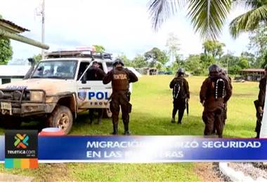 Migración reforzó seguridad en las fronteras, se espera la llegada de nicaragüenses ilegales