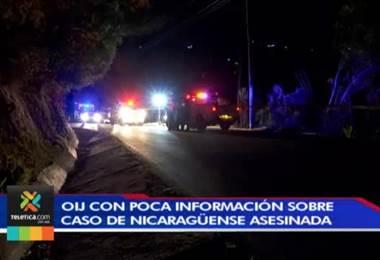 OIJ tiene pocos datos sobre la mujer nicaragüense cuyo cuerpo fue encontrado en Aserrí