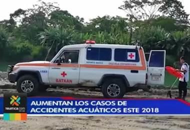 Cruz Roja reporta 146 casos de personas fallecidas en accidentes acuáticos durante este 2018