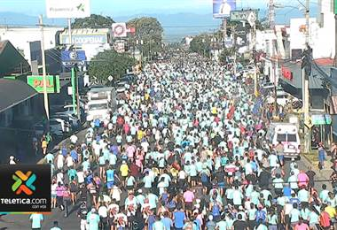 Así se desarrolló la carrera de San Silvestre este 31 de diciembre