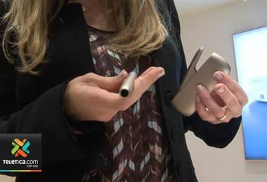 Nuevo dispositivo electrónico calienta el tabaco en vez de quemarlo