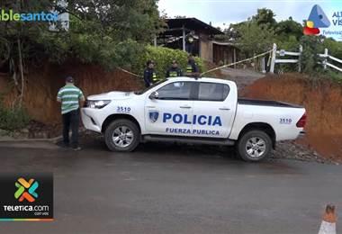 Hombre asesinó a su expareja, hirió a su hija y luego se entregó a la policía en León Cortés