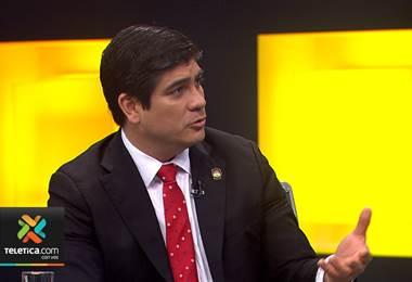 Entrevista con el Presidente Carlos Alvarado