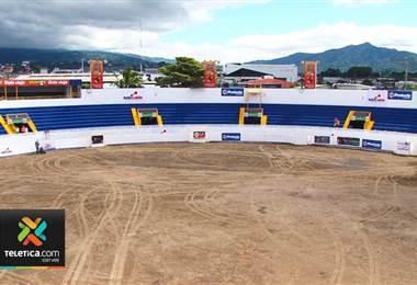 Redondel de Zapote ya está listo para la fiesta taurina de fin de año