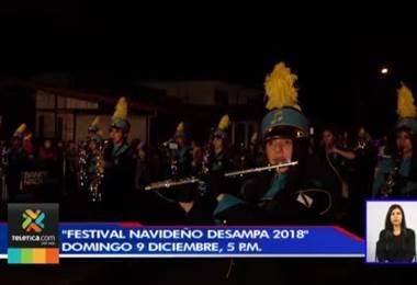 'Festival Navideño Desampa' se celebrará este domingo