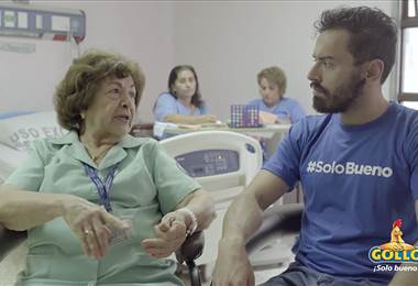 Héroes Solo Bueno: doña Dinora es la voz amiga de los pacientes con cáncer
