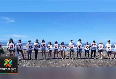 500 voluntarios se dieron a la tarea de limpiar 10 playas costarricenses
