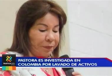 Pastora investigada por lavado de activos instauró diez iglesias en Costa Rica