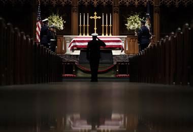 Funeral del expresidente de Estados Unidos, George H.W. Bush |AFP.