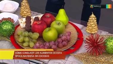 Consejos de nutrición para no aumentar de peso en fin de año