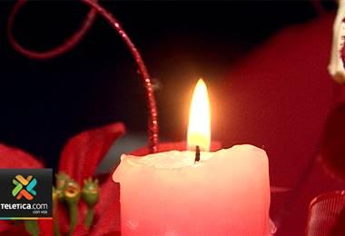 Cuerpo de Bomberos registró este miércoles la primera emergencia relacionada con decoración navideña