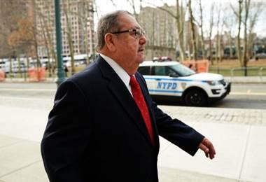 Rafael Salguero, exjefe del fútbol de Guatemala. AFP