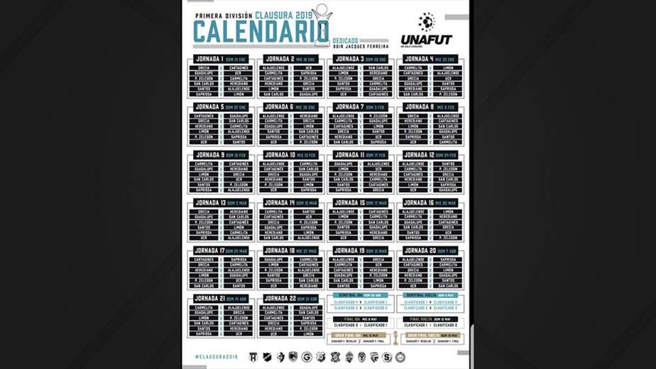 gran venta procesos de tintura meticulosos en venta Este será el calendario para el próximo Torneo de Clausura ...